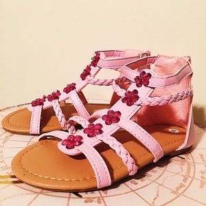 Other - 3/$15 Pink Flower Sandals  |  Little Girl's 🌸